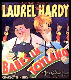 Band name meaning Babes in Toyland - Laurel and Hardy Babes in Toyland poster