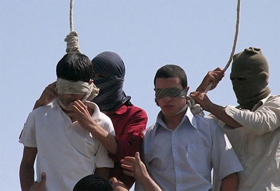 asgari hanged marhoni and Mahmoud ayaz