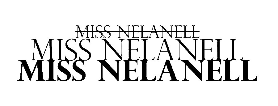 Miss Nelanell