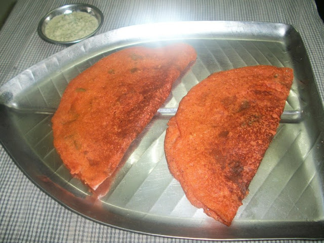 Instant Tomato Dosa - Dosa Recipes