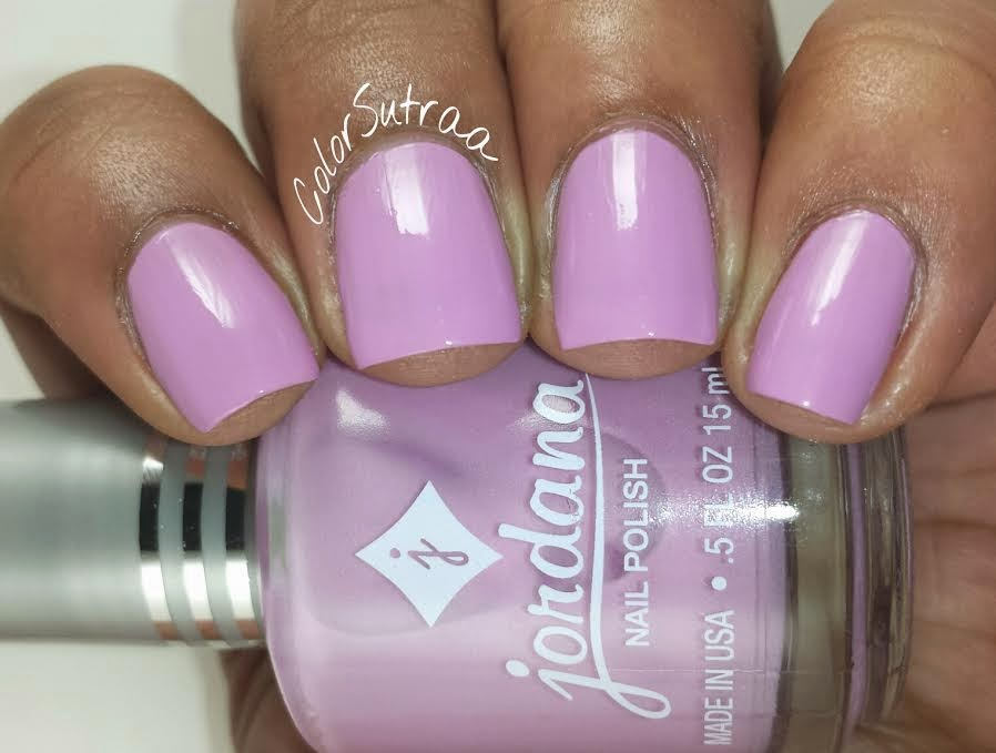 JORDANA Playful Pastels collection : Swatches, Review and Nail Art ...