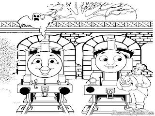 Thomas Dan Percy Mendapat Hadiah Dari Kepala Stasiun
