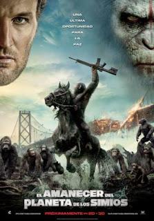 El amanecer del planeta de los simios (2014) [Latino]