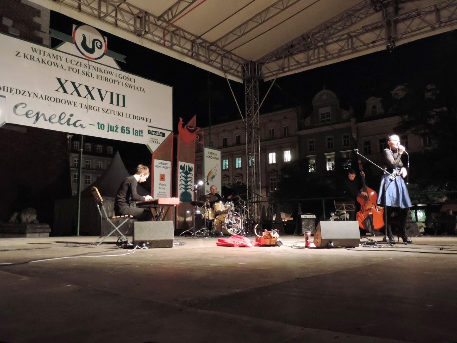 Koncert Susanny wraz z zespołem | Susanna and her musical group
