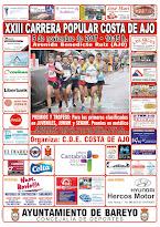 INFORMACION Y REGLAMENTO DE LA XXIII CARRERA POPULAR COSTA DE AJO