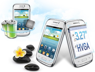 Samsung Galaxy Young S6310 Android Jelly Bean Harga 1 Jutaan.