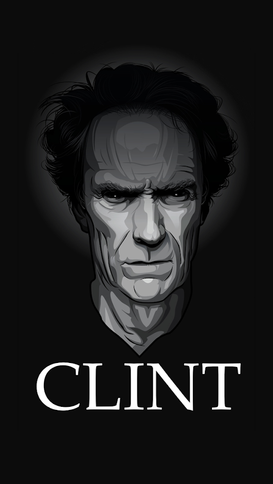Clint Eastwood Caricature  Galaxy Note HD Wallpaper