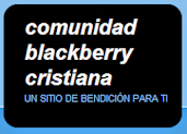 VISITA COMUNIDAD BLACKBERRY CRISTIANA