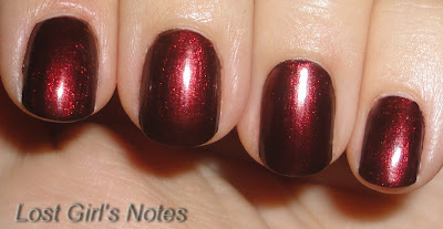 OPI german-icure nail polish swatch