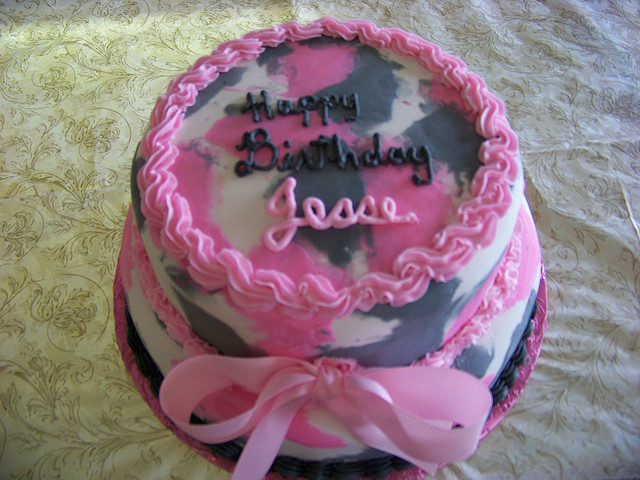 Special Day Cakes: Amazing Camo Birthday Cake Decorations
