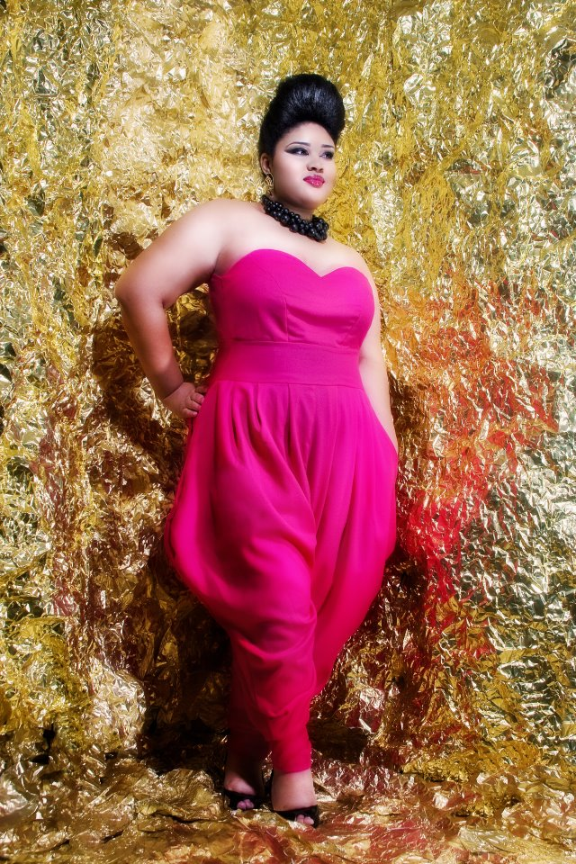 Plus size designer, plus size fashion, JIBRI