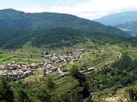 Sant Julià de Cerdanyola des de la Serra del Candara