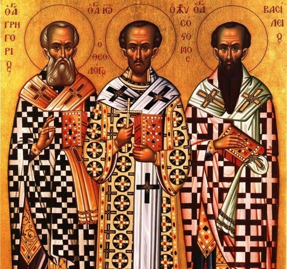 Света Три јерарха - три богоносна светитеља