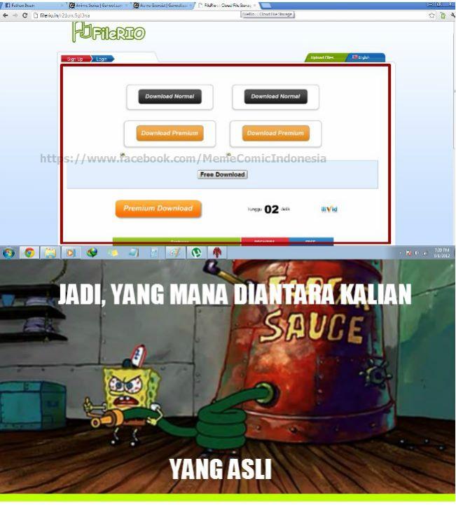 WLA Bloggerian: Kumpulan Gambar Gokil Spongebob (Part 2