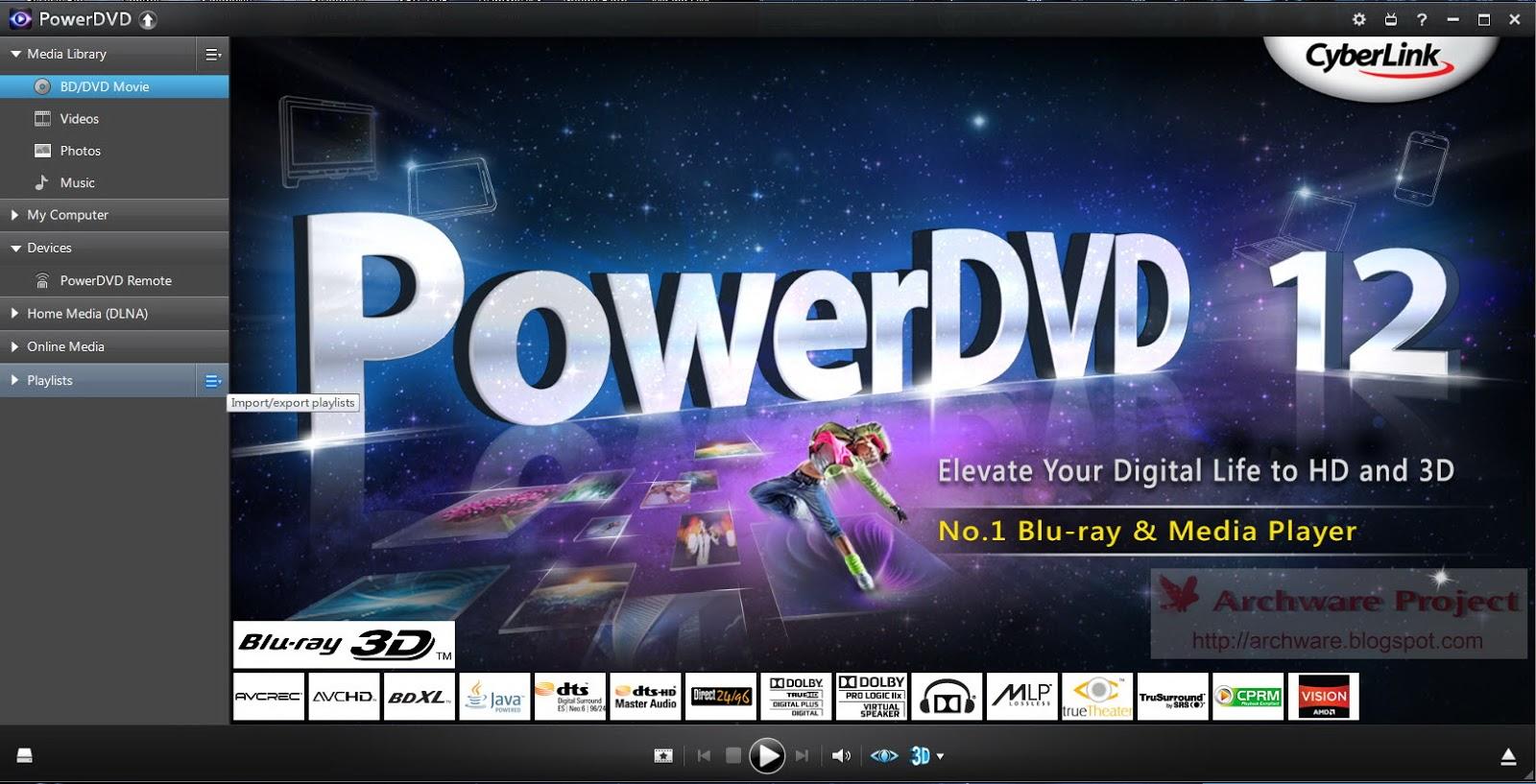 PowerDVD Updates CyberLink