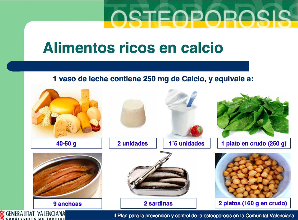 A tu salud m s no siempre es mejor - Que alimento contiene mas calcio ...