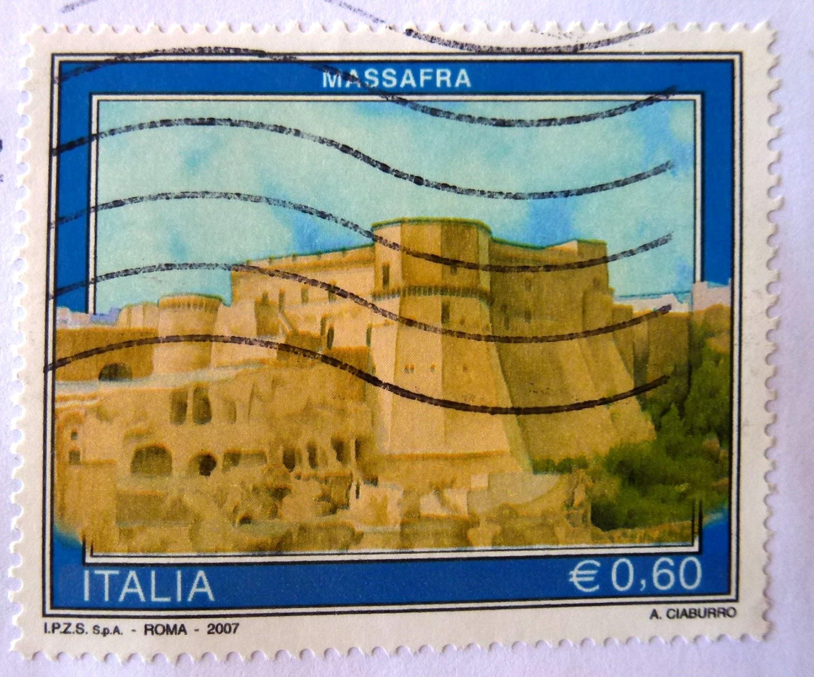 francobollo Massafra