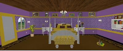 Cherishing Spaces Design of the weekPurple and Yellow Bedroom – Purple and Yellow Bedroom