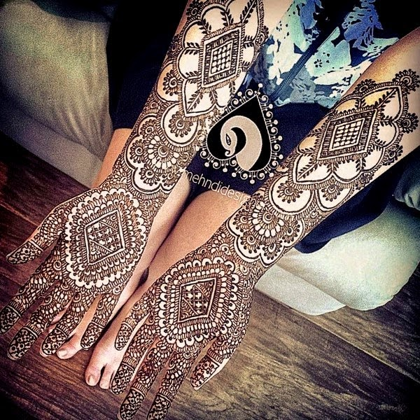 Best Mehndi Designs Collection for Eid