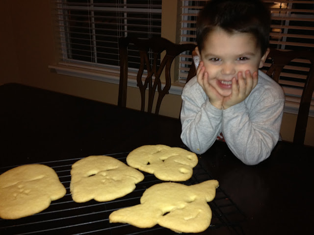 My little cookie monster!
