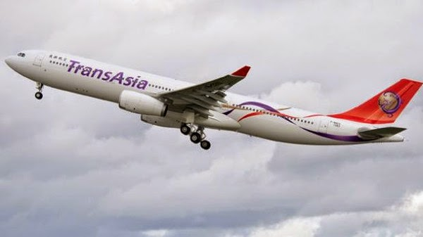TransAsia domestic flight with 58 onboard crashes in Taiwan river