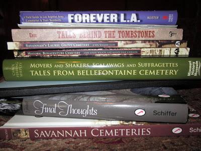Cemetery Bookshelf