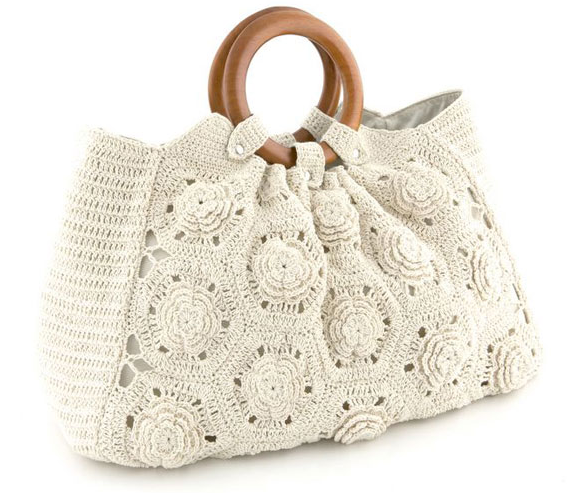 Bolsa De Mão Em Crochet : Vaneska prates crochet mais bolsas de