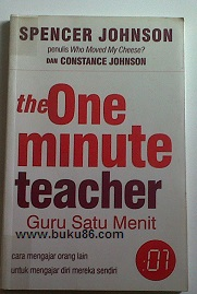 Buku The one Minute Teacher  by Spencer Jhonson
