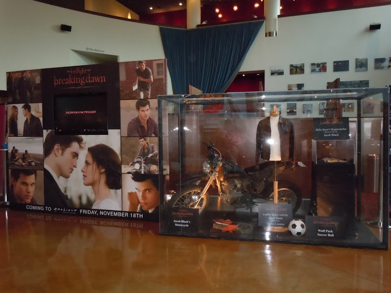 Twilight Breaking Dawn movie exhibit