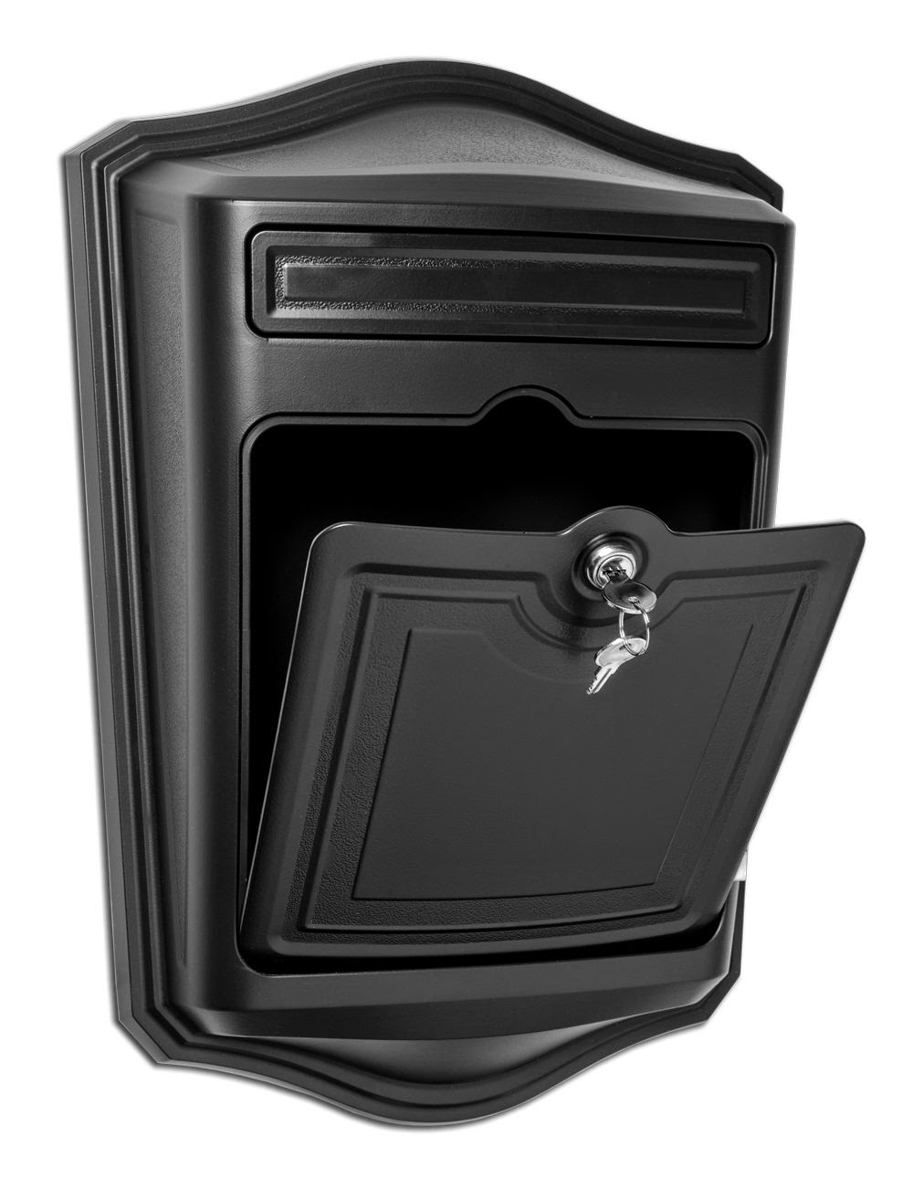 Maison Locking Wall Mount Black