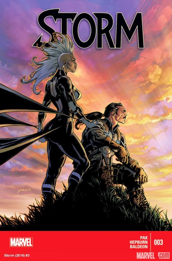Storm and Forge Africa Marvel