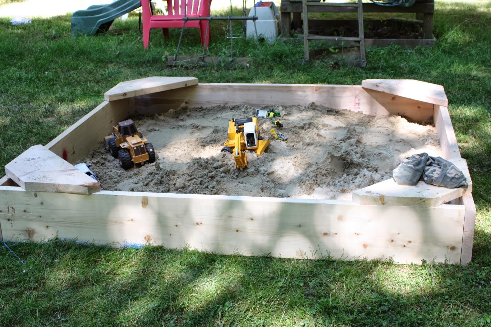 DIY Sandbox under $100