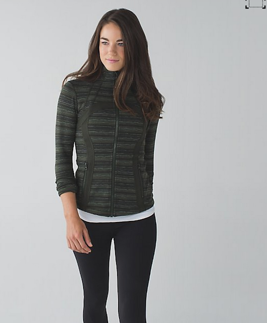 Gator Green Cyber Stripe Define Jacket