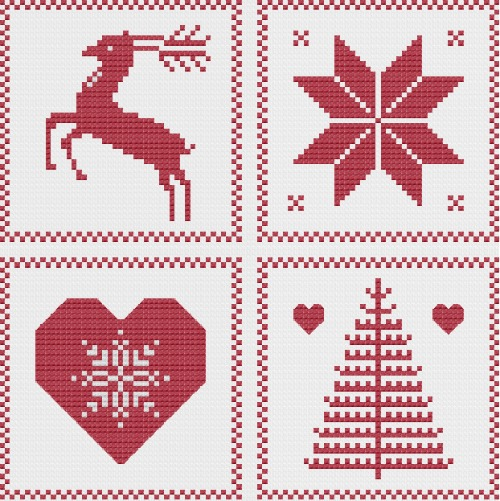 how to finish cross stitch ornaments