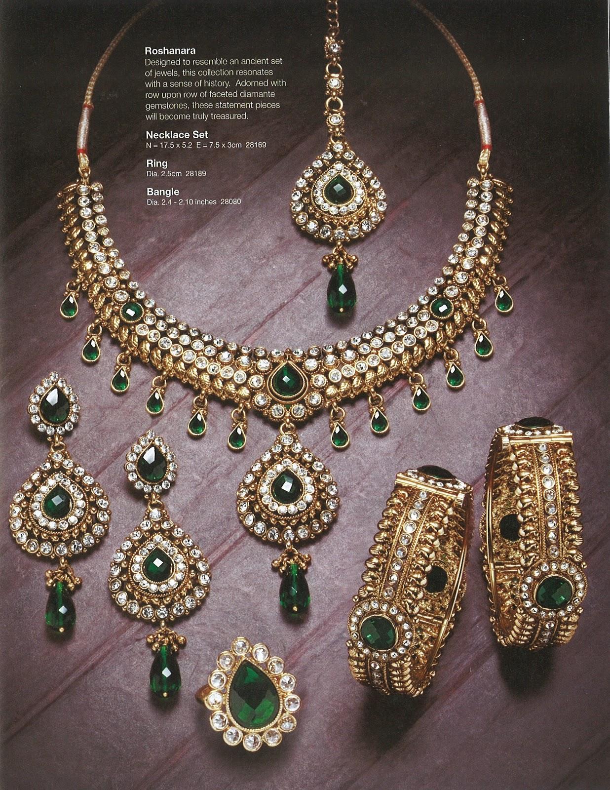Lovely Diamond Bridal Jewellery Sets