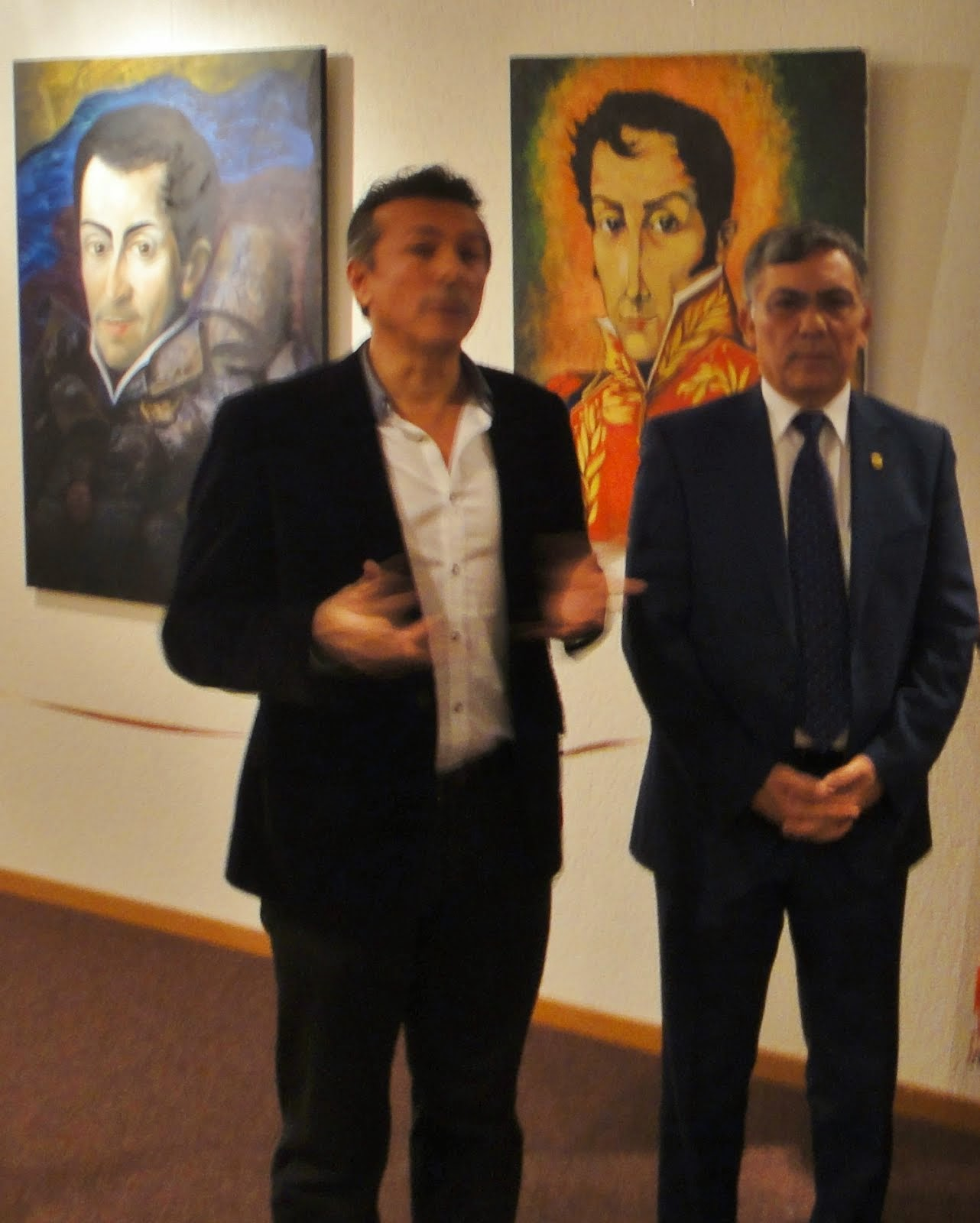 """Presentación de la Exposición """"El sueño de Simón Bolívar"""""""