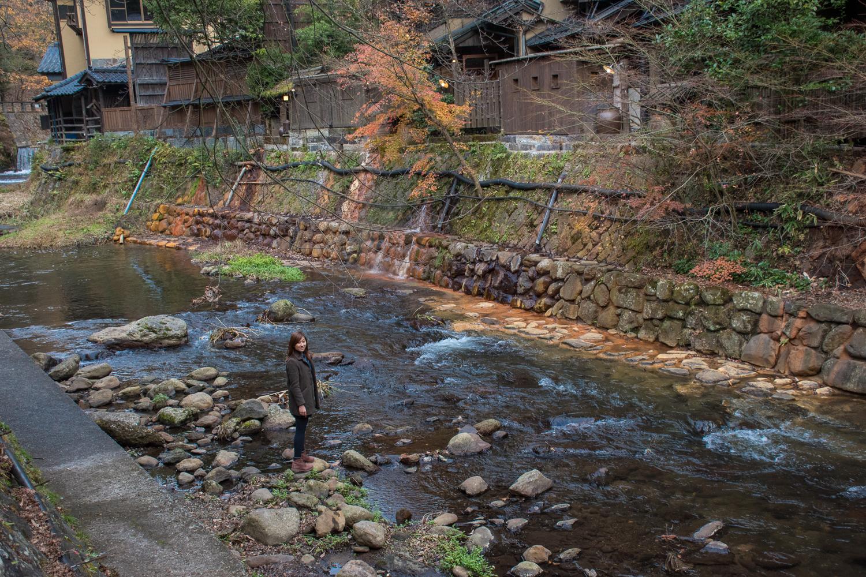 Kurosawa old onsen town RIVER