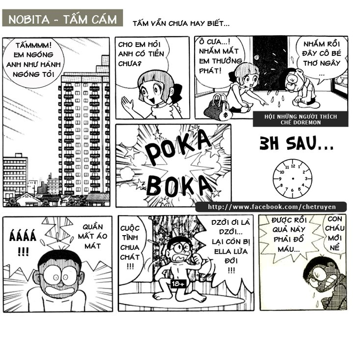 34 Truyện Cười Nobita Doremon