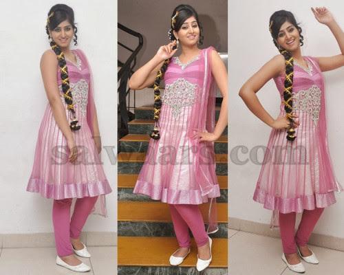 Shamili Shimmer Churidar