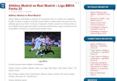 Roja Directa blog futbol