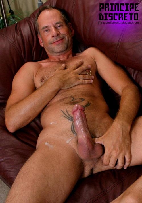 Silverdaddies Hung Gay Cock Cum