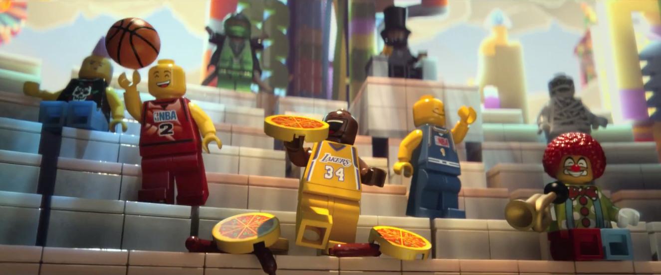 Lego movie michelangelo