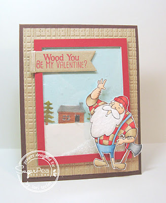 Wood You Be My Valentine card-designed by Lori Tecler/Inking Aloud-stamps and dies from SugarPea Designs
