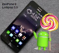Zenfone 6 android lollipop 5.0 update