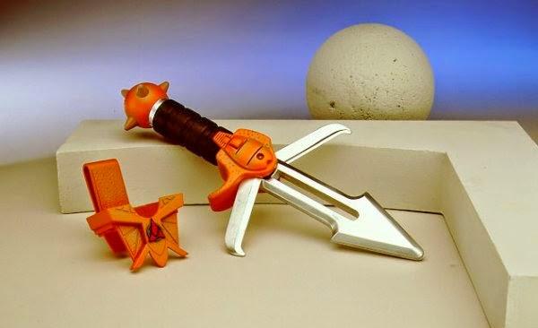 Star Trek Playmates Prototype Klingon Knife