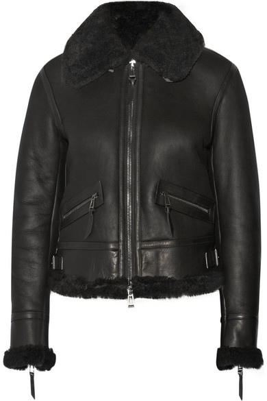 Belstaff Shearling Leather Jacket