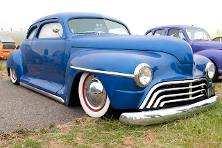 Beautiful hot rod classic car