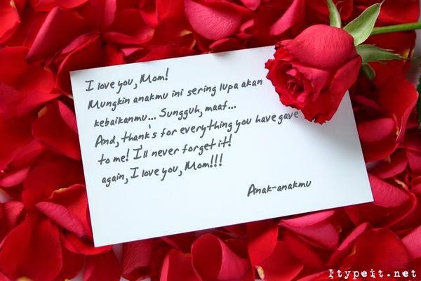 Surat Cinta Untuk Ibu Sabda Mutiara Pena Islami