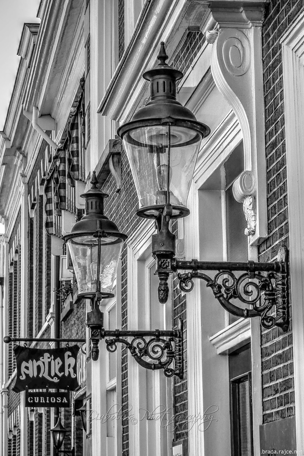Fasáda domu v Amsterdamu