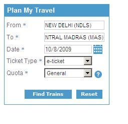 how to find reservation class of eticket air india